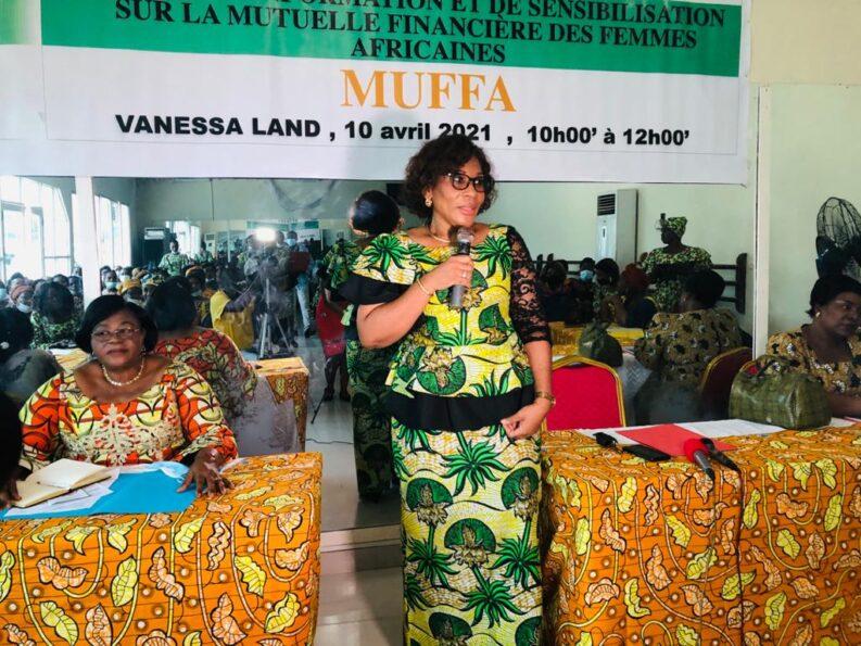 Les femmes de l'espace Kasaï sensibilisées par la Mutuelle financière des femmes Africaines, MUFFA