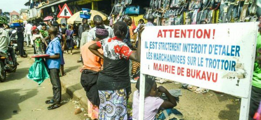 Bukavu : Les marchés pirates exposent les femmes commerçantes.