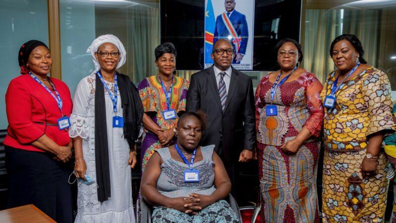 Une délégation du CAFCO reçu par le premier ministre Sama Lukonde Kyenge