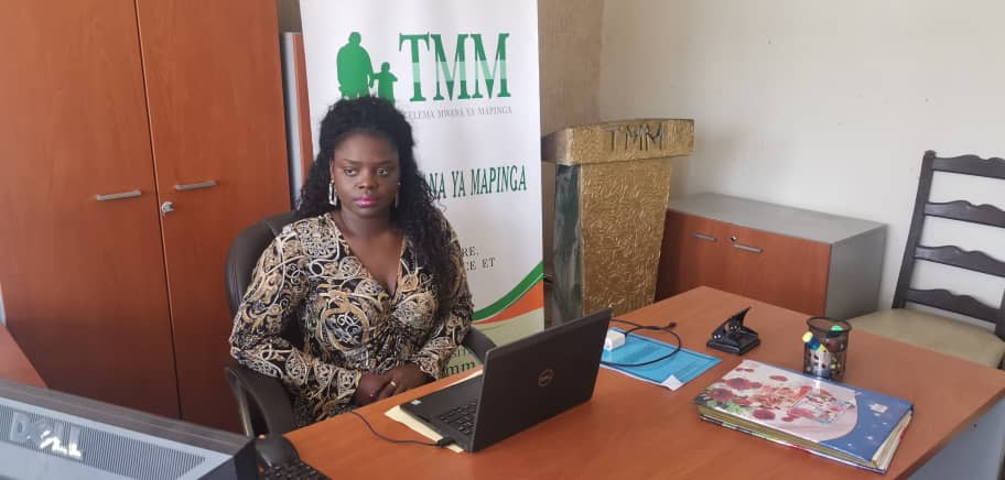 Christella Kiakuba :«Telema Mwana Mapinga» tient aux changements dans la communauté des militaire et policiers