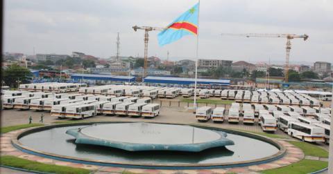 RDC : Plus de 300 bus Transco remis au ministère de Transport