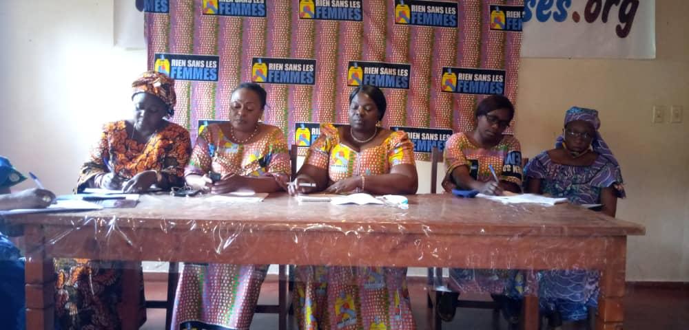 Bureau définitif Ass.Nat : RSLF/Bukavu déplore la régression de la représentativité féminine