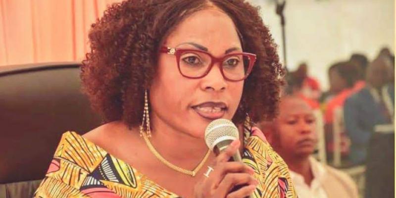 Nomination Sama Lukonde : Fifi Masuka félicite le choix du président Tshisekedi
