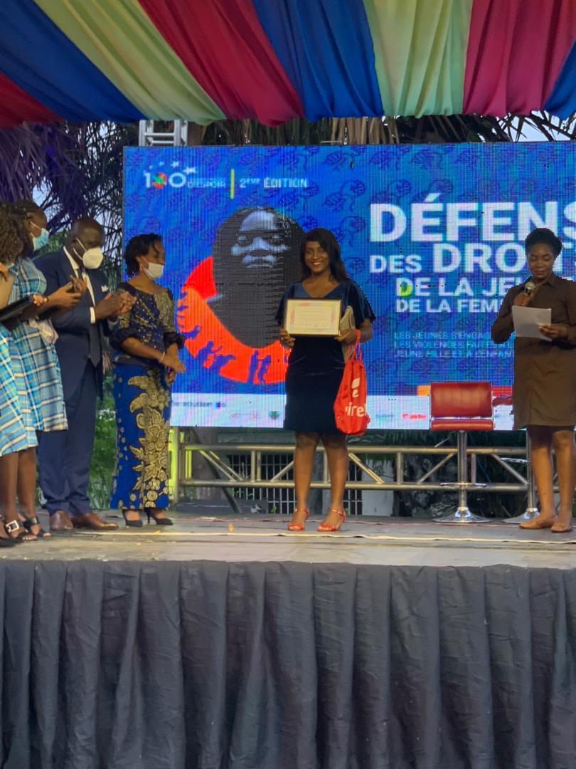 Soraya Odia, Chanic Mbuya et Céline Banza parmi les 100 jeunes pages d'espoir