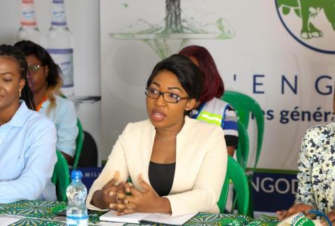 Clarisse Falanga déplore la sous-représentation des femmes dans le domaine des sciences