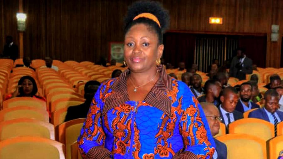 Election membres du Bureau : Colette Tshomba dépose sa candidature au poste de Rapporteur