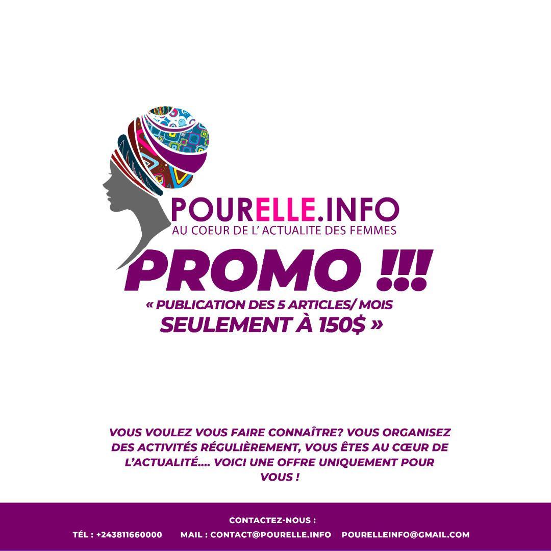 Affiche Annonce Promo PourElle