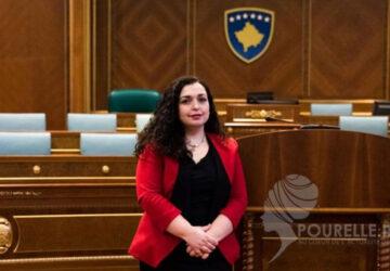 Le Kosovo a désormais une femme présidente de la République, Vjosa Osmani