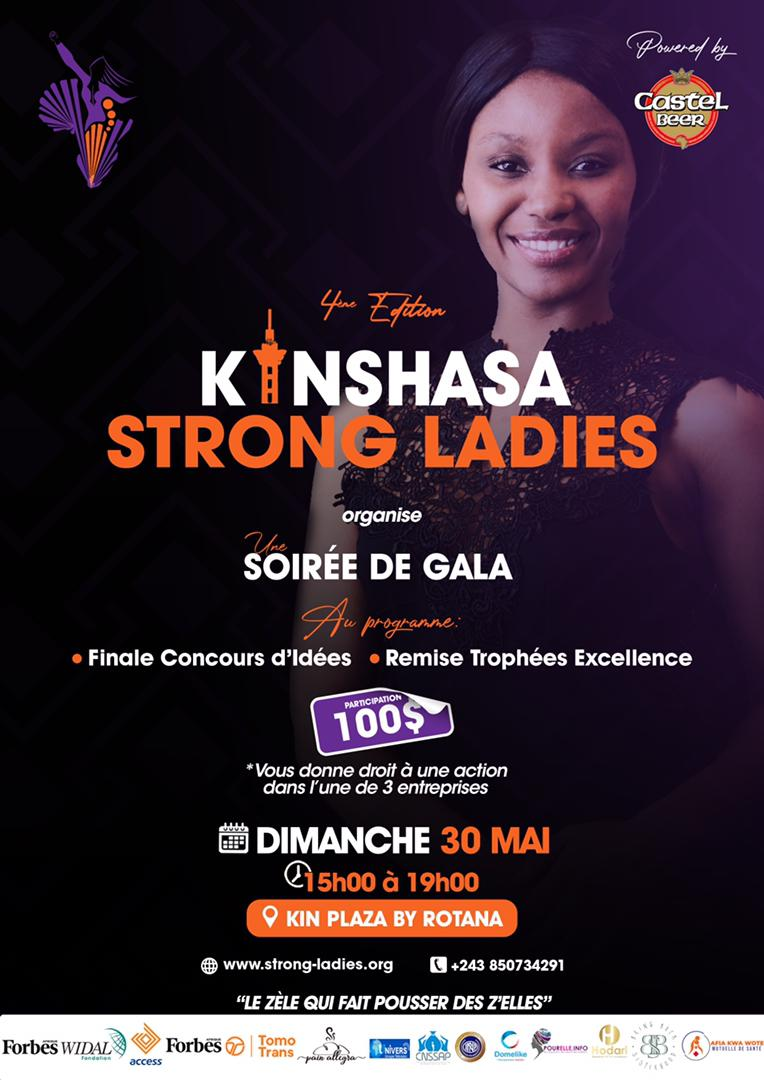 Affiche 4e Edition – Kinshasa Strong Ladies
