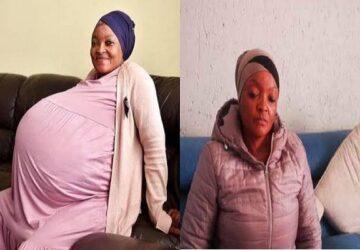 Afrique du Sud : La femme ayant donné naissance à 10 bébés arrêtée par la police Sud africaine