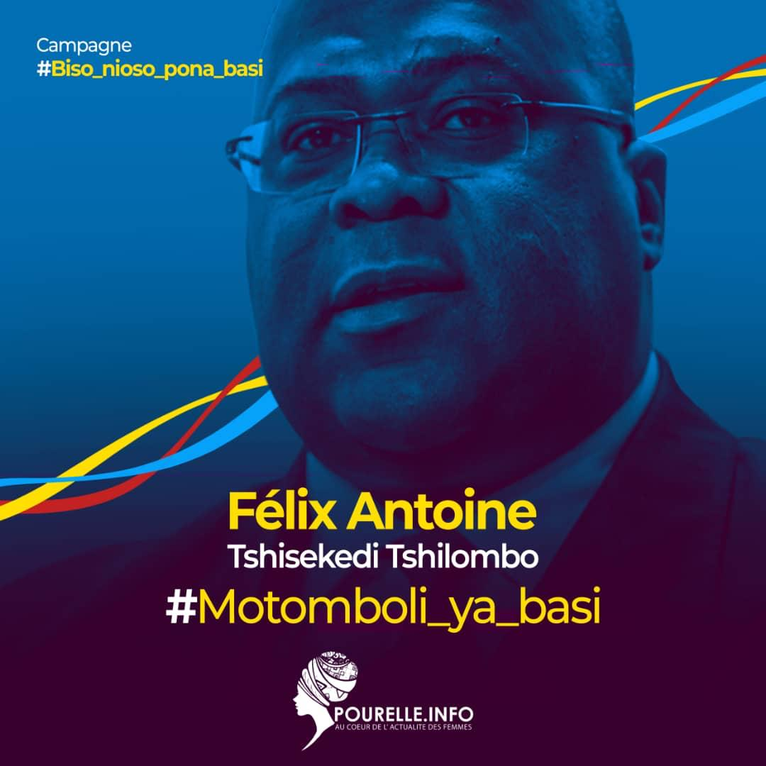 Félix Tshisekedi : Motomboli ya basi