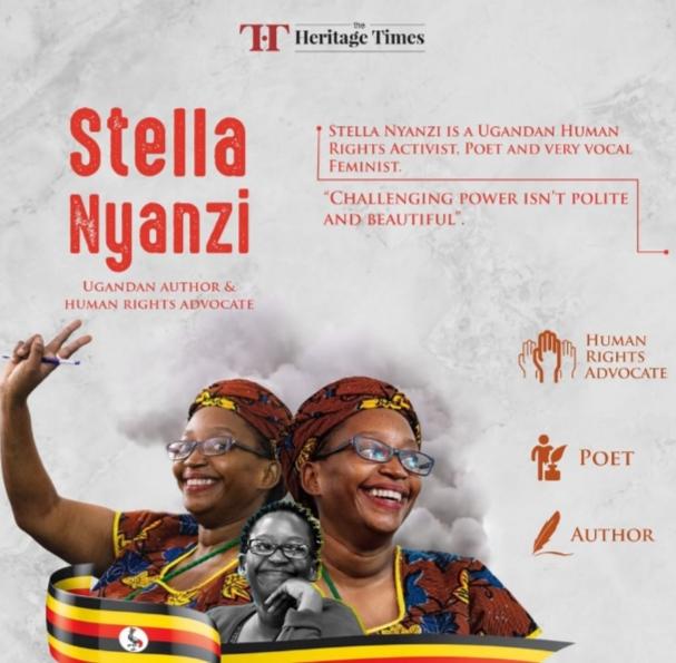 Interdite d'accès au campus universitaire, l'activiste ougandaise Stella Nyanzi se déshabille en publique